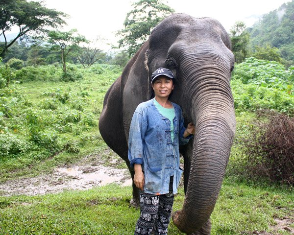 Owner of Pamper a Pachyderm ethical elephant sanctuary