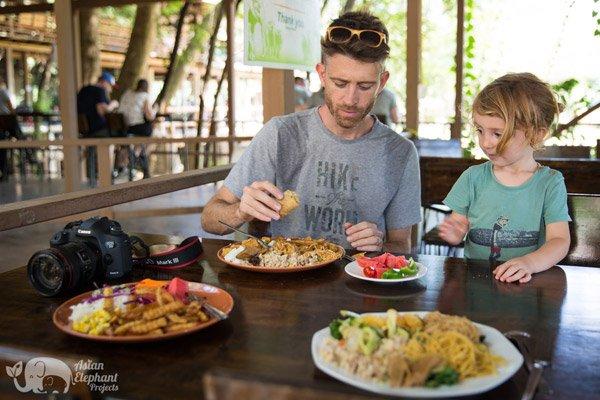 Elephant Nature Park lunch