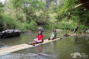 bamboo rafting elephant sanctuary chiang mai