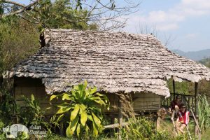 Karen hiltribe traditional house