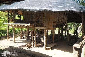 Journey to Freedom Karen traditional house