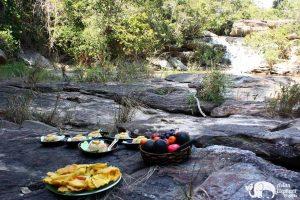 Karen Mountain Hideaway picnic